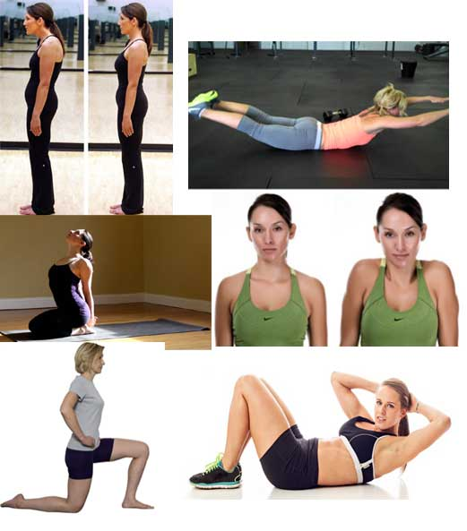5 Easy Exercises to Improve your Body Posture – Home ...