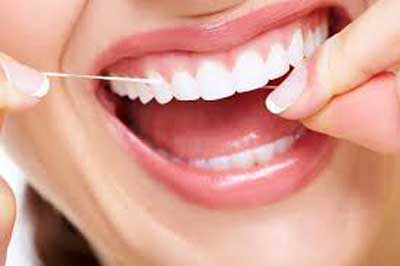 Do not neglecting mouth flossing if you want to live long