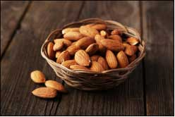 Almond is packed with high energy source and protein