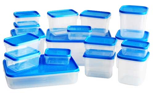 Avoid plastic containers. They are slow poison
