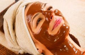 Chocolate facial pack