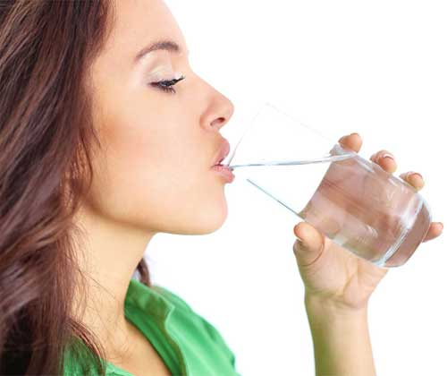 Drink at least 3-liter water every day
