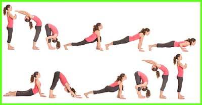 Sun salutation-Yoga to grow tall