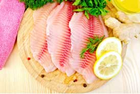 Fish is very rich in omega-3 fatty acids and potassium