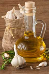 Garlic and olive oil