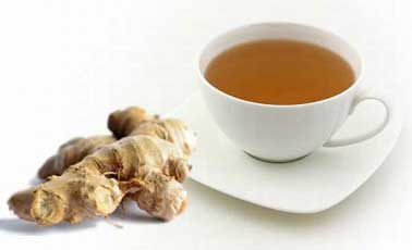Ginger Tea to Relieve Back Pain