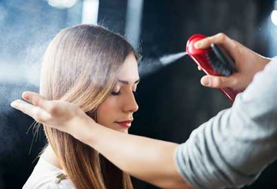 Hair With These types of DIY Heat Protectant Spray