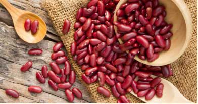 Kidney Beans are high in potassium and fiber