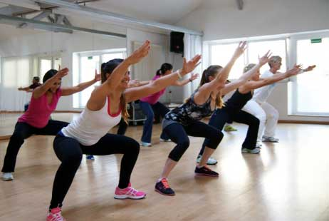 Maintain Your Body Weight With Aerobics