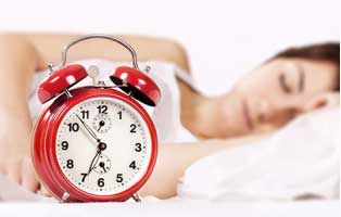 Make it a habit to hit the bed at same time everyday and as early as possible