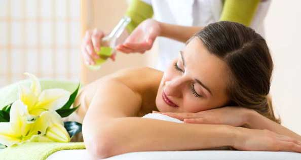 Olive oil nourishes the skin deeply and is a good massage oil