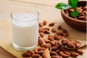 Milk and almond are natural sleep inducers