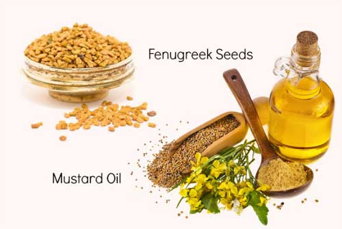 how to make mustard oil for hair