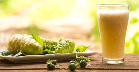 Noni juice Helps in Curing Skin Problems and keeps Body Healthy