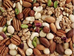 Nuts keep heart healthy and keeps you active