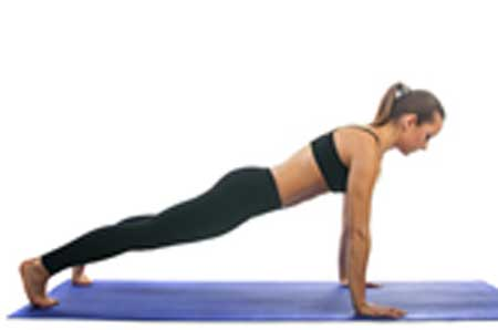 This asana is a full body workout and it helps in toning the muscles