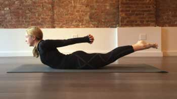 This helps in stretching the whole body and lose weight