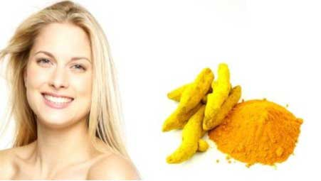 Turmeric improves the elasticity of the skin