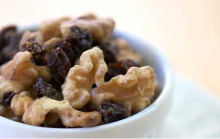 Walnuts and Raisins