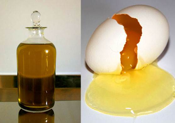 Almond Oil and Egg