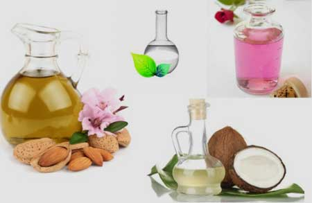 Almond Oil, Coconut Oil, Glycerine and Rose Water Night Cream