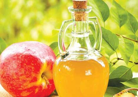 Apple cider vinegar to get rid of Neck Pain