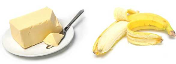 Banana and Butter Face Pack