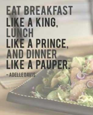 Begin with a healthy breakfast