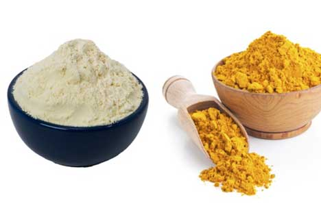 Besan and Turmeric Face Pack