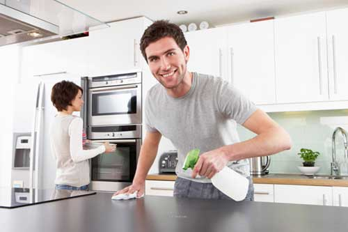 Can we do to Disinfect Kitchen