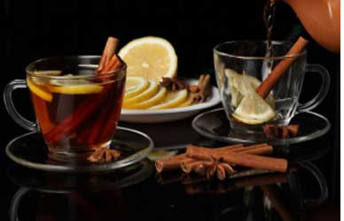 Cinnamon tea helps in faster weight loss