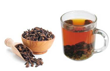 Cloves eases the pain and inflammation in throat