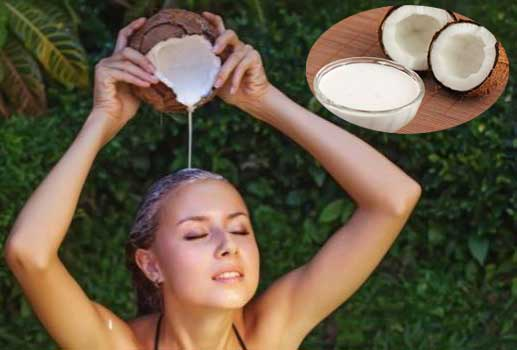 Coconut Milk for Hair Care: Hair Growth|Home Remedies