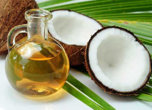 Coconut oil homemade makeup remover