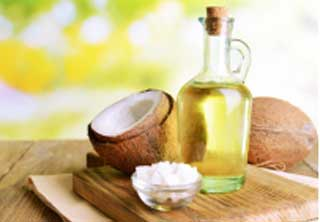 Coconut oil is very useful for treating skin diseases and imperfections