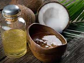 Coconut oil and honey moisturizer for dry skin