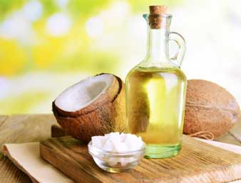 Coconut oil to treat diaper rash
