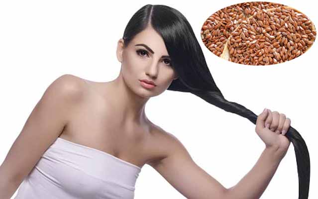 Consume flax seeds for healthy skin, hair and nails