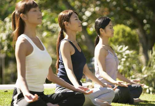 Do exercise or Yoga or Meditation