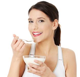 Eat yogurt