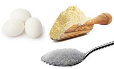 Egg and Corn flour Remedy