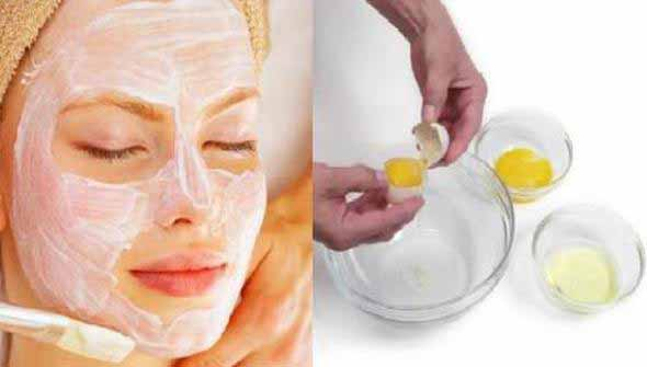 Egg White Face Packs for Healthy Glowing Skin