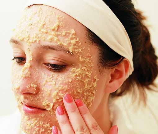 Face Mask With Exfoliation