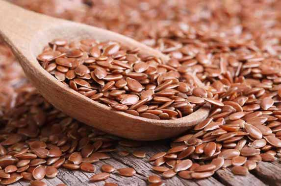 Flaxseeds reduces the intensity of pain