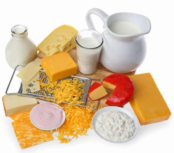 Milk and dairy products- diet of an elderly