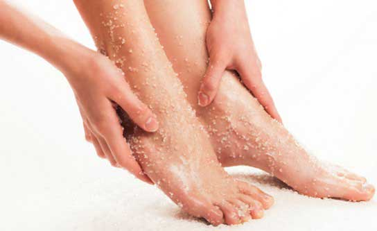 Foot Scrubs at Home