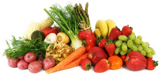 Fruity-Fruits and Veggie-Vegetables