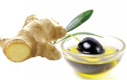 Ginger And Olive oil Mask