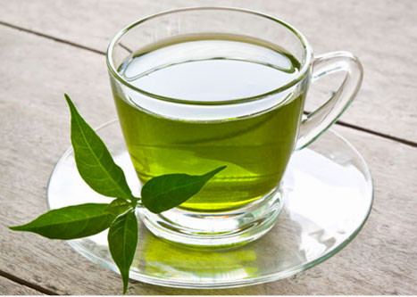 Green tea is effective in preventing DHT effects