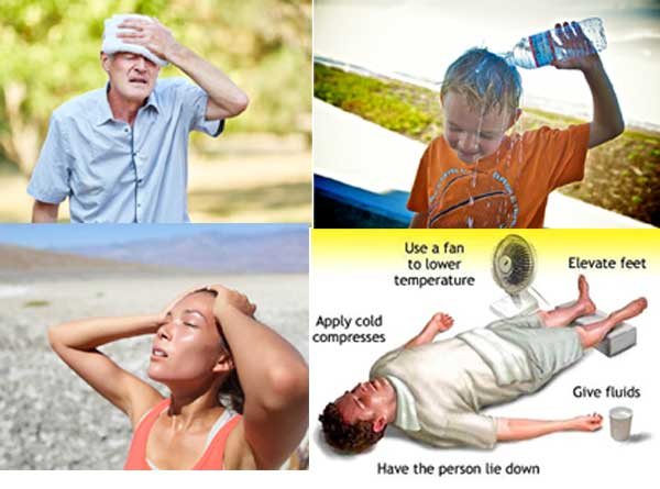 What is a heat exhaustion